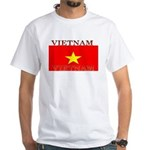 Vietnam Vietnamese Flag White T-Shirt
