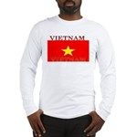 Vietnam Vietnamese Flag Long Sleeve T-Shirt