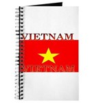 Vietnam Vietnamese Flag Journal