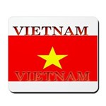 Vietnam Vietnamese Flag Mousepad