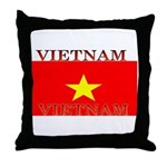 Vietnam Vietnamese Flag Throw Pillow