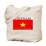 Vietnam Vietnamese Flag Tote Bag