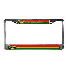 Vanuatu Vanuatuan Flag License Plate Frame