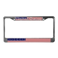 USA American Flag License Plate Frame