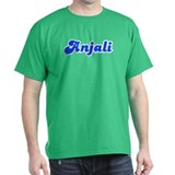 Retro Anjali (Blue) T-Shirt