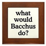 Bacchus Framed Tile