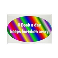 A Book a Day Rectangle Magnet (10 pack)