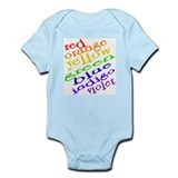 Rainbow Colors Onesie