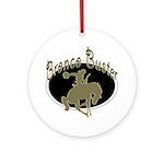 Bronco Buster Keepsake (Round)