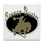 Bronco Buster Tile Coaster