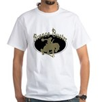 Bronco Buster White T-Shirt