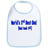 World's 2nd Best Dad (God too Bib