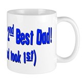 World's 2nd Best Dad (God too Small Mugs