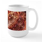 Wood Cat Large Mug