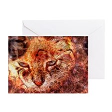 Wood Cat Greeting Cards (Pk of 20)