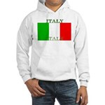 Italy Italian Flag Hooded Sweatshirt