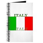 Italy Italian Flag Journal
