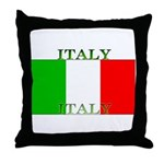 Italy Italian Flag Throw Pillow
