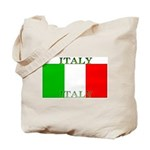 Italy Italian Flag Tote Bag