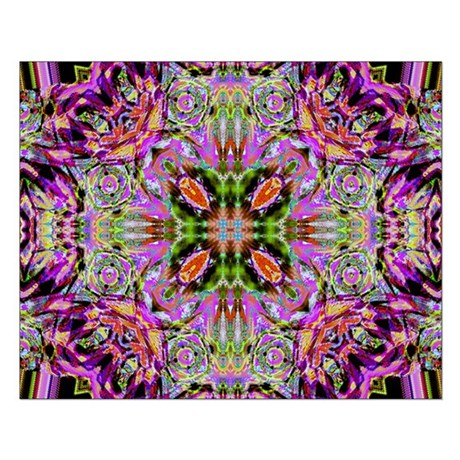 Kaleidoscope Small Poster