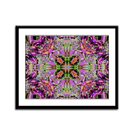 Kaleidoscope Framed Panel Print