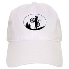 Mountain Biker Baseball Cap