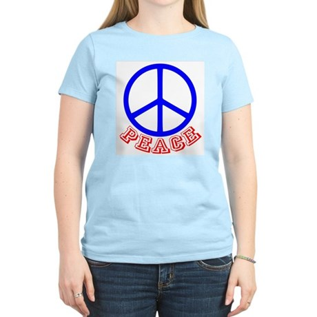 Peace Symbol v9 Women's Light T-Shirt