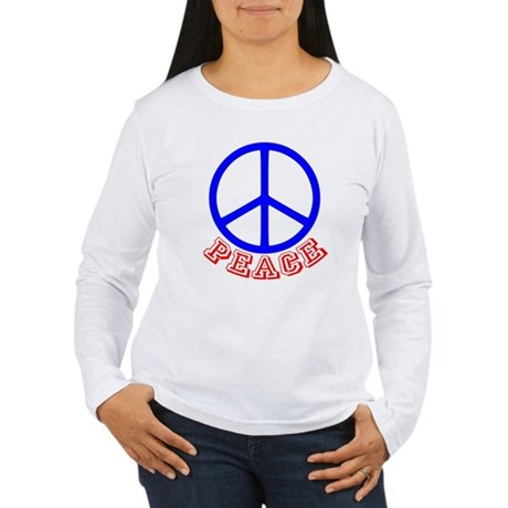 Peace Symbol v9 Women's Long Sleeve T-Shirt