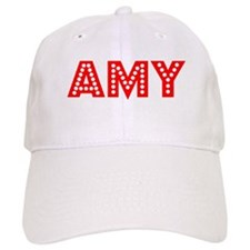 Retro Amy (Red) Baseball Cap