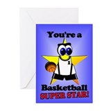 Basketball Birthday Greeting Cards (Pk of 20)