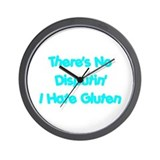 No Disputin' Hate Gluten Wall Clock
