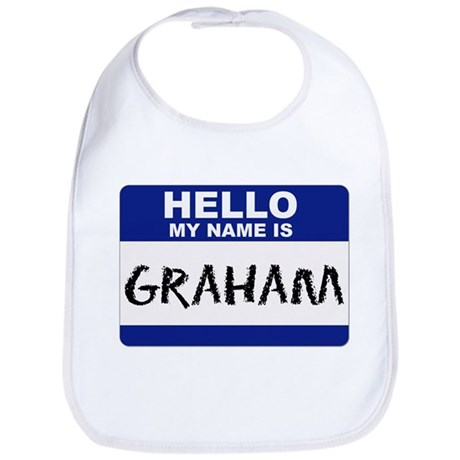 My Name Is Graham - Bib