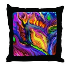 Vivid Dreams Throw Pillow