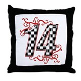 Racing 14 Throw Pillows