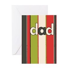 Mod Stripes Father's Day Card
