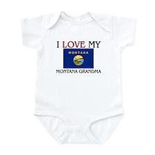 I Love My Montana Grandma Infant Bodysuit