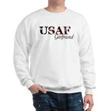USAF Girlfriend (Flag) Sweatshirt