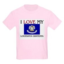 I Love My Louisiana Grandma T-Shirt