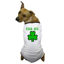 Irish Feck Off Dog T-Shirt