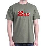 Retro Luz (Red) T-Shirt