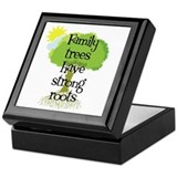 Trees Have Strong Roots Keepsake Box