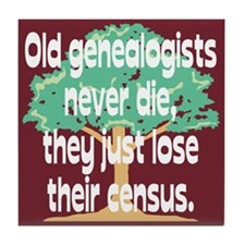 Lose Their Census Tile Coaster