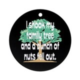 Shook Family Tree Ornament (Round)