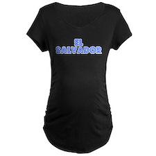 Retro El Salvador (Blue) T-Shirt