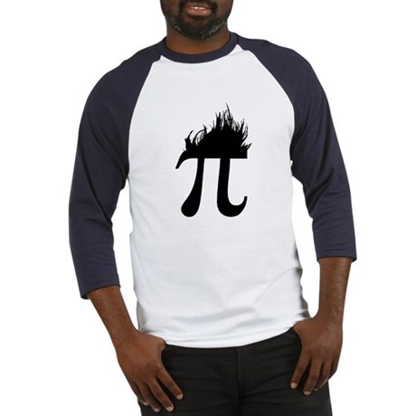 Hair Pi Baseball Jersey