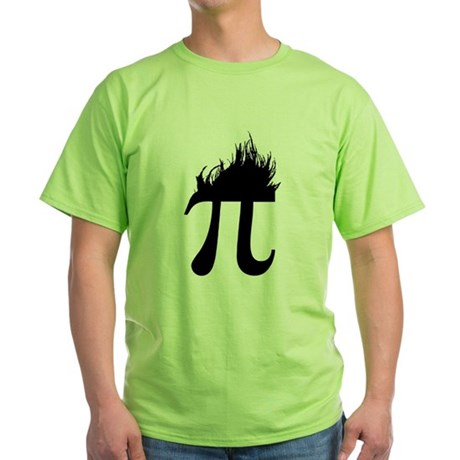 Hair Pi Green T-Shirt
