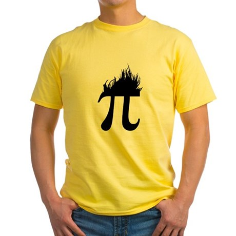 Hair Pi Yellow T-Shirt