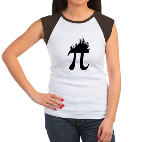 Hair Pi Womens Cap Sleeve T-Shirt