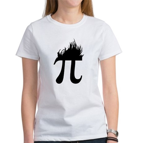 Hair Pi Womens T-Shirt