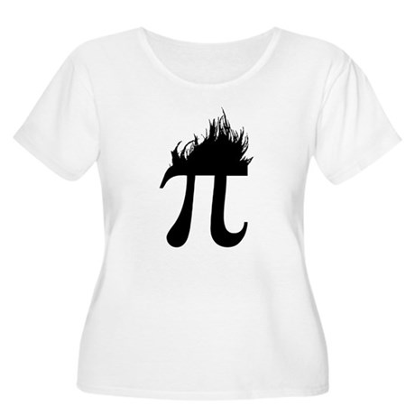 Hair Pi Plus Size Scoop Neck Shirt